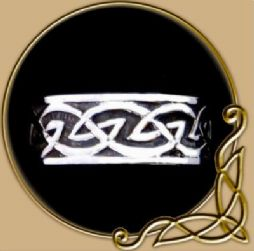 Celtic Knot Silver Ring